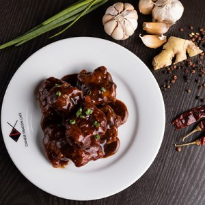 SPARE RIBS IN HOT & SOUR SAUCE