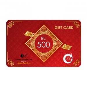 GIFT CARD - Rs 500