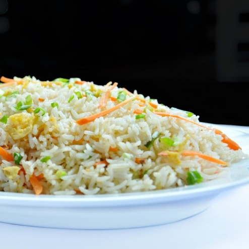FRIED RICE WITH VEGETABLE & EGG