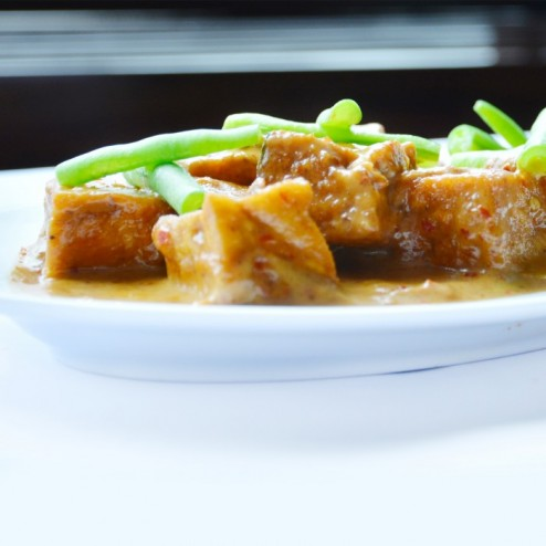 THAI RED CURRY BEAN CURD