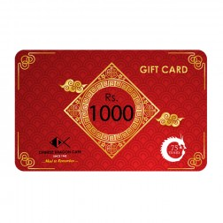 GIFT CARD - Rs 1000