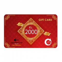 GIFT CARDS - Rs 2000