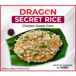 SECRET RICE, CHICKEN & SWEET CORN