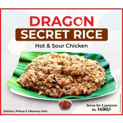 SECRET RICE, HOT & SOUR CHICKEN