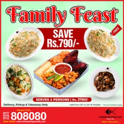 Family Feast Package