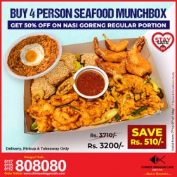 Seafood Munchbox 2.0(for 4) + 50% OFF Nasi Goreng(R)