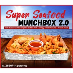 Seafood Munchbox 2.0(for 4) + FREE Veg & Egg Rice