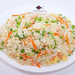 FRIED RICE WITH SHRIMP & CHICKEN