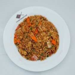 SPICY RICE WITH SEAFOOD